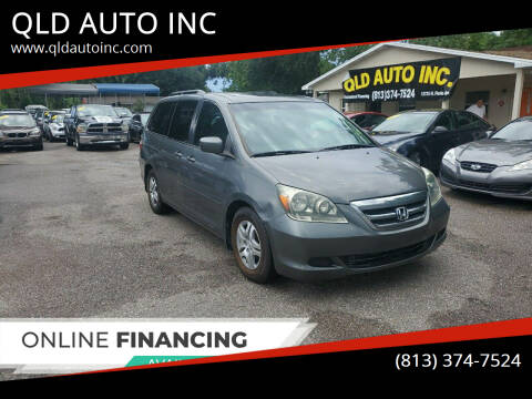 2007 Honda Odyssey for sale at QLD AUTO INC in Tampa FL