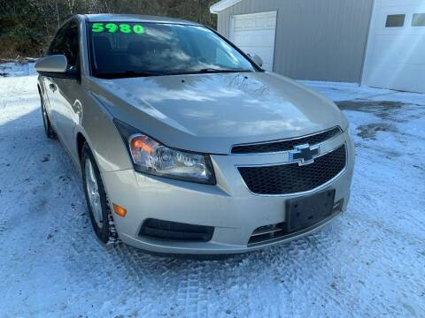 2013 Chevrolet Cruze for sale at SMS Motorsports LLC in Cortland NY