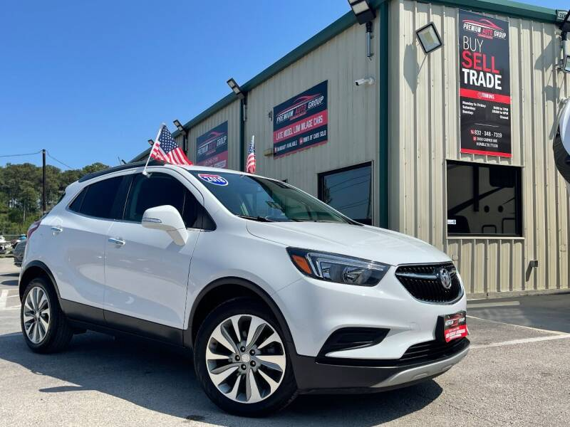 2018 Buick Encore for sale at Premium Auto Group in Humble TX
