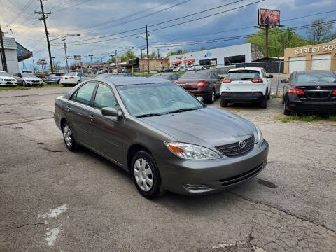 2002 Toyota Camry for sale at Green Ride Inc in Nashville TN