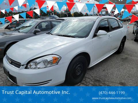 2011 Chevrolet Impala for sale at Trust Capital Automotive Inc. in Covington GA