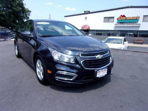 2015 Chevrolet Cruze for sale at Dorman's Auto Center inc. in Pawtucket RI