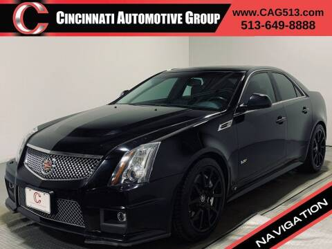 2009 Cadillac CTS-V for sale at Cincinnati Automotive Group in Lebanon OH