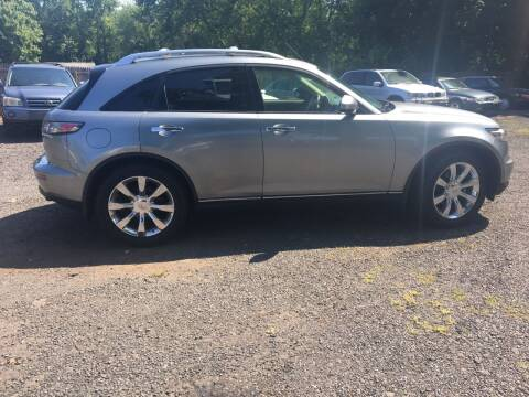 2005 Infiniti FX35 for sale at MILLDALE AUTO SALES in Portland CT