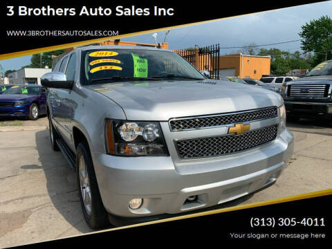 2014 Chevrolet Suburban for sale at 3 Brothers Auto Sales Inc in Detroit MI