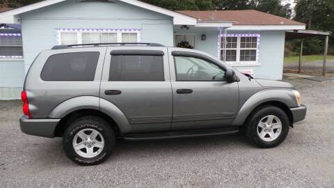 2005 Dodge Durango for sale at action auto wholesale llc in Lillian AL