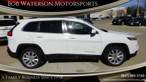 2015 Jeep Cherokee for sale at Bob Waterson Motorsports in South Elgin IL
