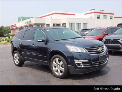 2017 Chevrolet Traverse for sale at BOB ROHRMAN FORT WAYNE TOYOTA in Fort Wayne IN