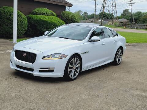 2017 Jaguar XJ for sale at MOTORSPORTS IMPORTS in Houston TX
