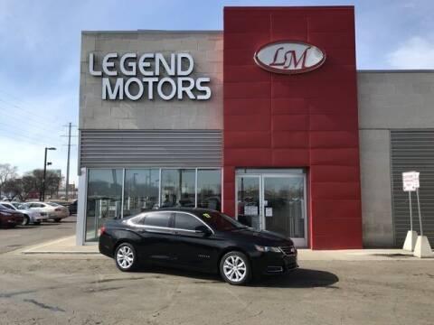 2017 Chevrolet Impala for sale at Legend Motors of Detroit - Legend Motors of Ferndale in Ferndale MI