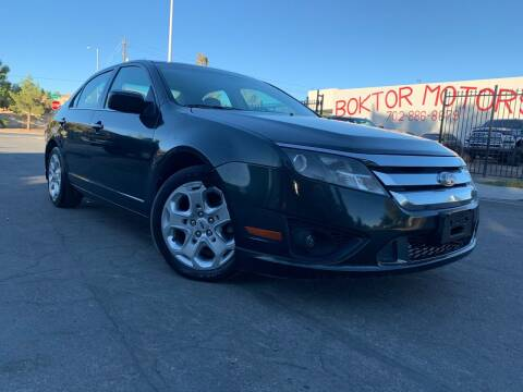 2010 Ford Fusion for sale at Boktor Motors in Las Vegas NV