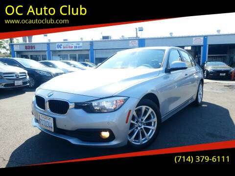 2016 BMW 3 Series for sale at OC Auto Club in Midway City CA