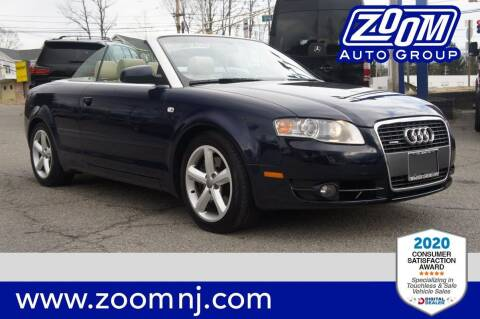 2007 Audi A4 for sale at Zoom Auto Group in Parsippany NJ