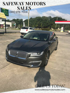 2020 Lincoln MKZ for sale at Safeway Motors Sales in Laurinburg NC