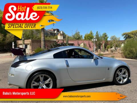 2007 Nissan 350Z for sale at Baba's Motorsports, LLC in Phoenix AZ