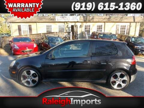 2008 Volkswagen GTI for sale at Raleigh Imports in Raleigh NC