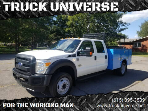 2013 Ford F-450 Super Duty for sale at TRUCK UNIVERSE in Murfreesboro TN
