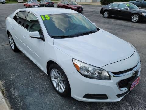 2015 Chevrolet Malibu for sale at Cooley Auto Sales in North Liberty IA