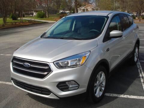 2019 Ford Escape for sale at Uniworld Auto Sales LLC. in Greensboro NC