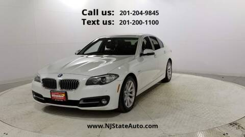 2015 BMW 5 Series for sale at NJ State Auto Used Cars in Jersey City NJ