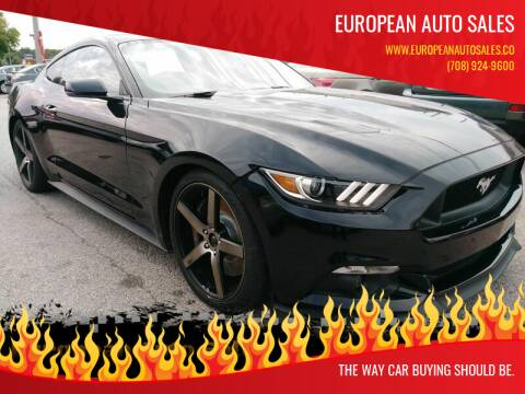 2017 Ford Mustang for sale at European Auto Sales in Bridgeview IL