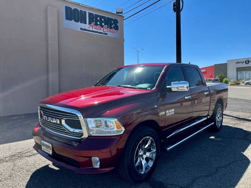 2017 RAM Ram Pickup 1500 for sale at Don Reeves Auto Center in Farmington NM