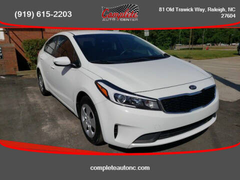 2017 Kia Forte for sale at Complete Auto Center , Inc in Raleigh NC