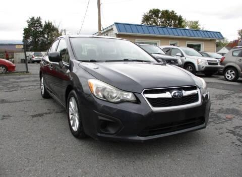 2013 Subaru Impreza for sale at Supermax Autos in Strasburg VA