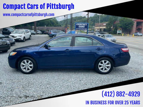 2007 Toyota Camry for sale at Compact Cars of Pittsburgh in Pittsburgh PA