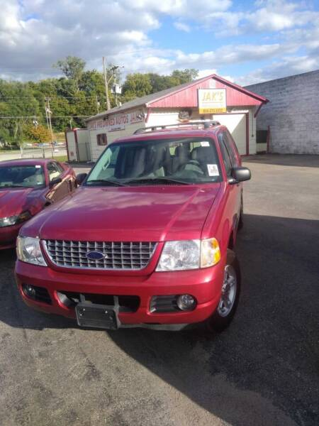 2004 Ford Explorer for sale at Jak's Preowned Autos in Saint Joseph MO