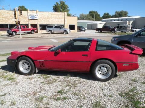 1984 Chevrolet Corvette for sale at Kingdom Auto Centers in Litchfield IL