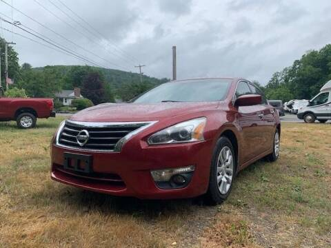 2013 Nissan Altima for sale at Worthington Air Automotive Inc in Williamsburg MA