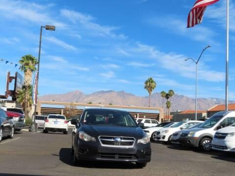2013 Subaru Impreza for sale at Jay Auto Sales in Tucson AZ