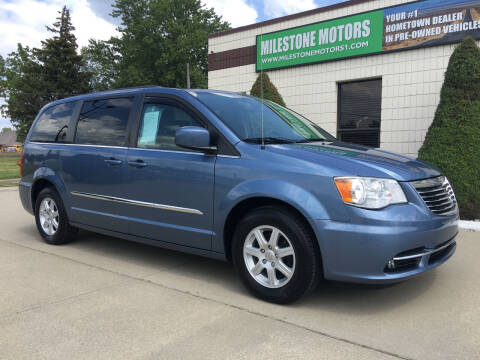 2012 Chrysler Town and Country for sale at MILESTONE MOTORS in Chesterfield MI