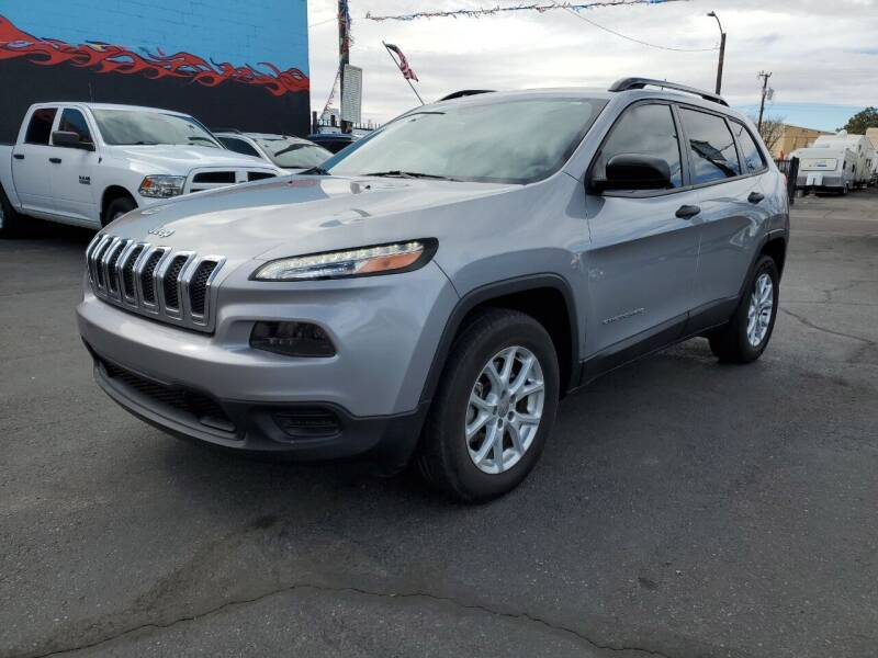 2016 Jeep Cherokee for sale at DPM Motorcars in Albuquerque NM