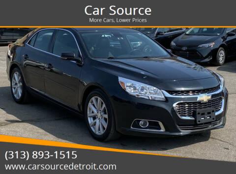 2015 Chevrolet Malibu for sale at Car Source in Detroit MI