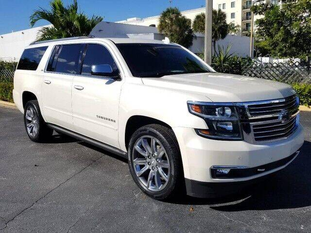 2015 Chevrolet Suburban for sale at Lifetime Automotive Group in Pompano Beach FL