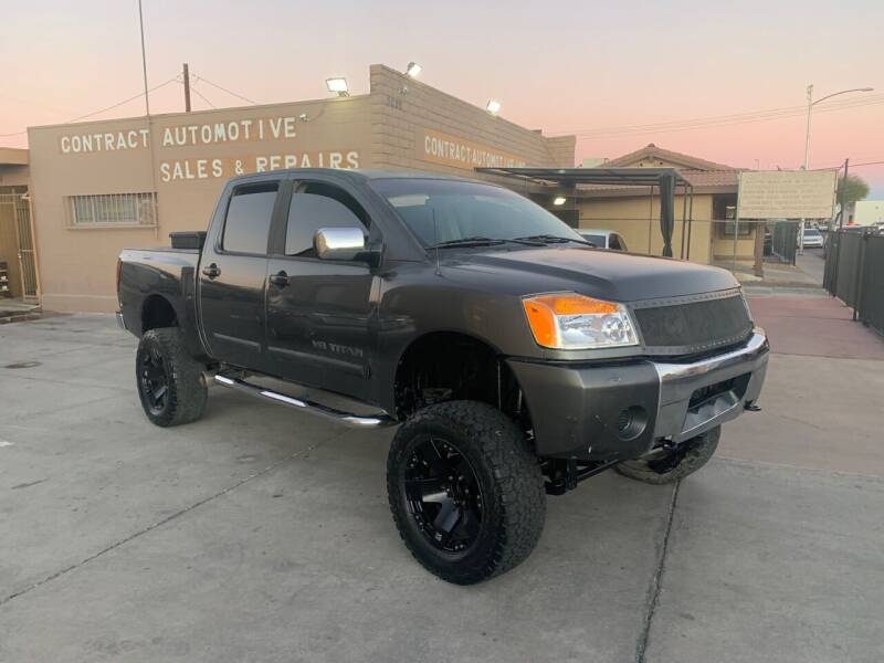 2005 Nissan Titan for sale at CONTRACT AUTOMOTIVE in Las Vegas NV