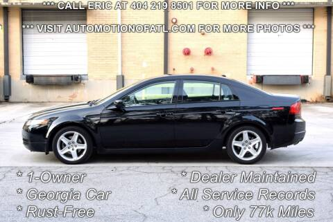 2004 Acura TL for sale at Automotion Of Atlanta in Conyers GA