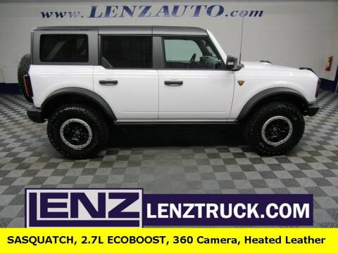 2021 Ford Bronco for sale at LENZ TRUCK CENTER in Fond Du Lac WI