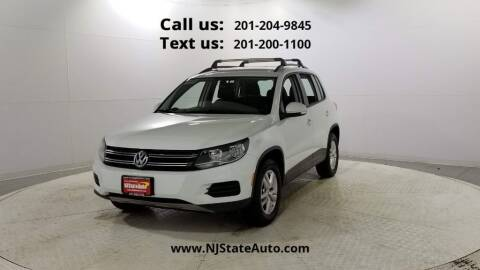 2016 Volkswagen Tiguan for sale at NJ State Auto Used Cars in Jersey City NJ