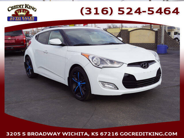 2013 Hyundai Veloster for sale at Credit King Auto Sales in Wichita KS