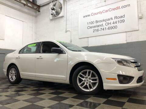 2012 Ford Fusion for sale at County Car Credit in Cleveland OH