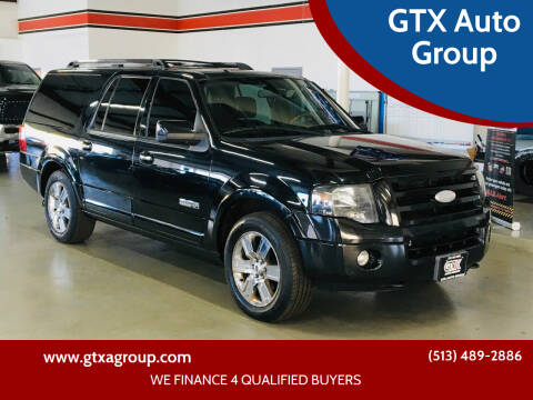 2008 Ford Expedition EL for sale at GTX Auto Group in West Chester OH
