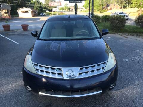 2006 Nissan Murano for sale at ATLANTA AUTO WAY in Duluth GA