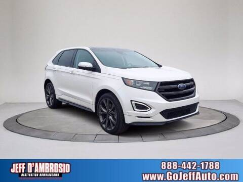 2017 Ford Edge for sale at Jeff D'Ambrosio Auto Group in Downingtown PA