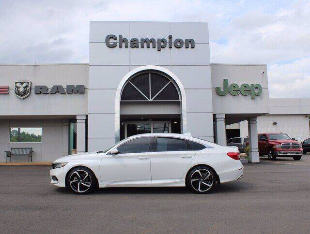 2018 Honda Accord for sale at Champion Chevrolet in Athens AL