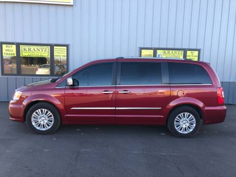 2014 Chrysler Town and Country for sale at Krantz Motor City in Watertown SD