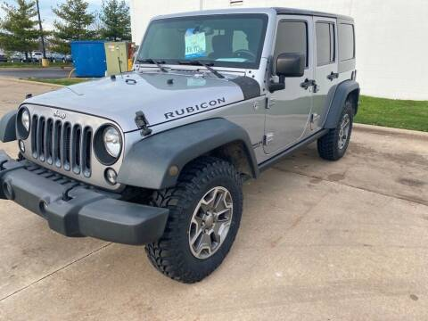 2015 Jeep Wrangler Unlimited for sale at TKP Auto Sales in Eastlake OH