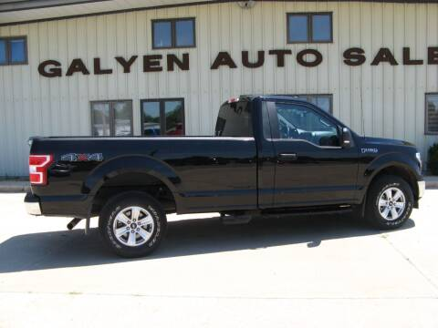 2019 Ford F-150 for sale at Galyen Auto Sales Inc. in Atkinson NE